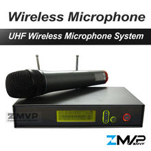 Free Shipping! 335 G2 Professional UHF Wireless Microphone Wireless System With Handheld Transmitter For Vocals Speech Karaoke
