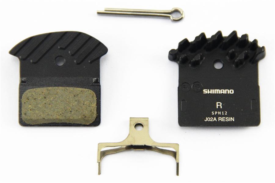 Shimano J02A Resin Cooling Fin Ice Tech Disc Brake Pads SLX Deore XT XTR M6000