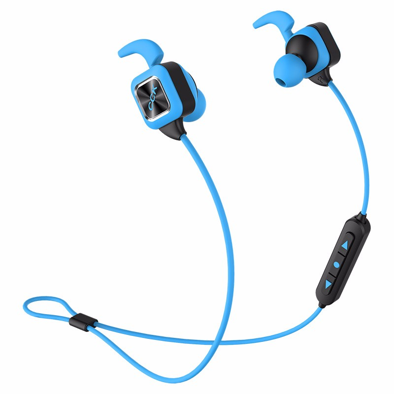 SltcrPasion CCK Wireless Phone Bluetooth Earphone with Mic Sport Earphone Music IPX4 Waterproof Sweatproof Stereo Bass EN RU ES<br>