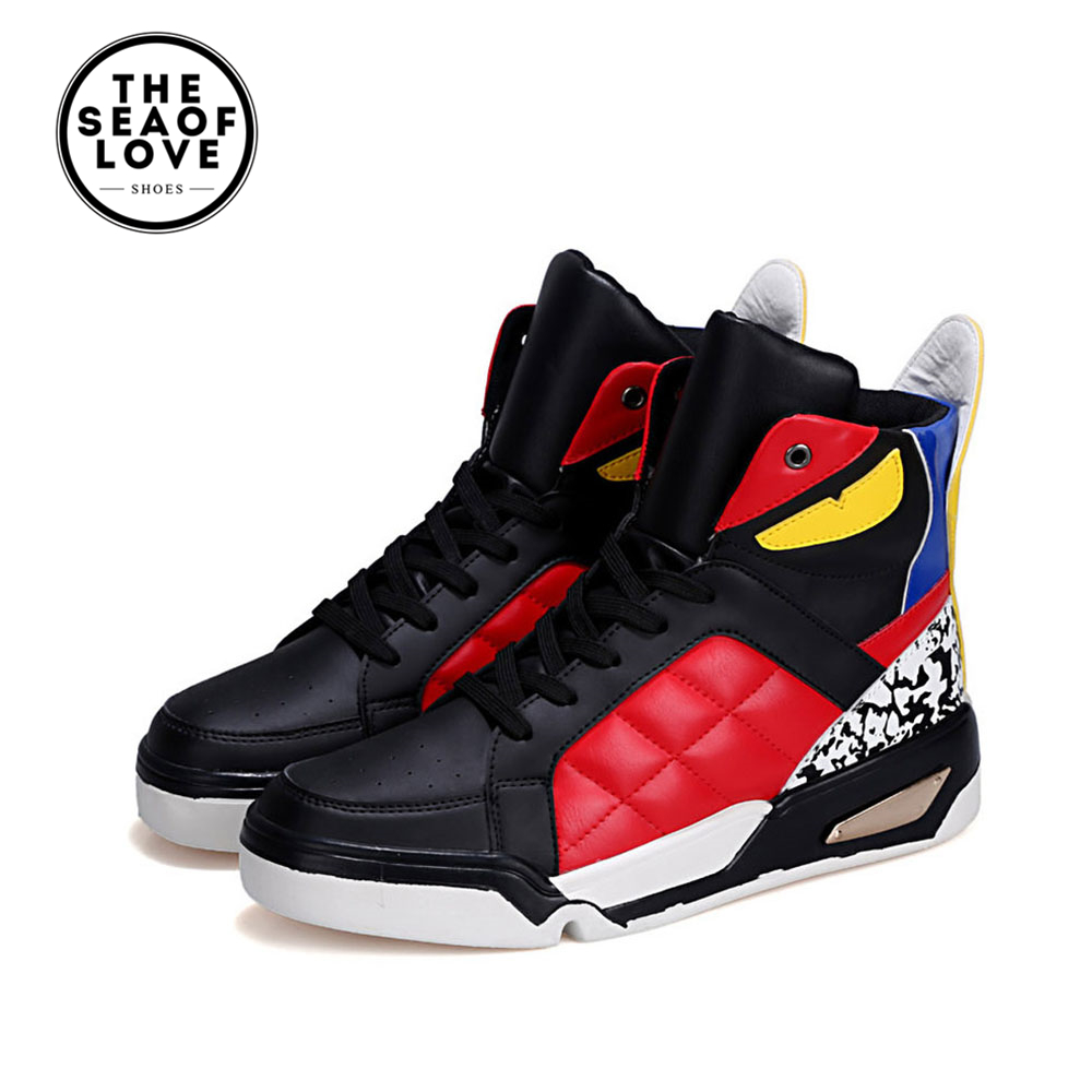 Super cool Mens 2017 Quick XT Light Basketball Shoes Breathable Fabric High Top Basketball Sneakers Male Outdoor Shoes<br>