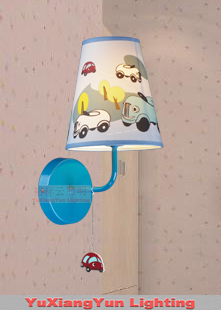 Car cartoon child real child wall lamp<br><br>Aliexpress