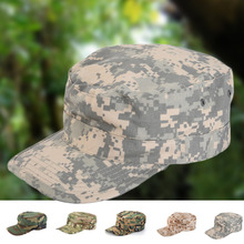 1pcs camping hiking cap 5 camouflage color training cap army camouflage military hat outdoor shade Military Hunting Fishing Hat