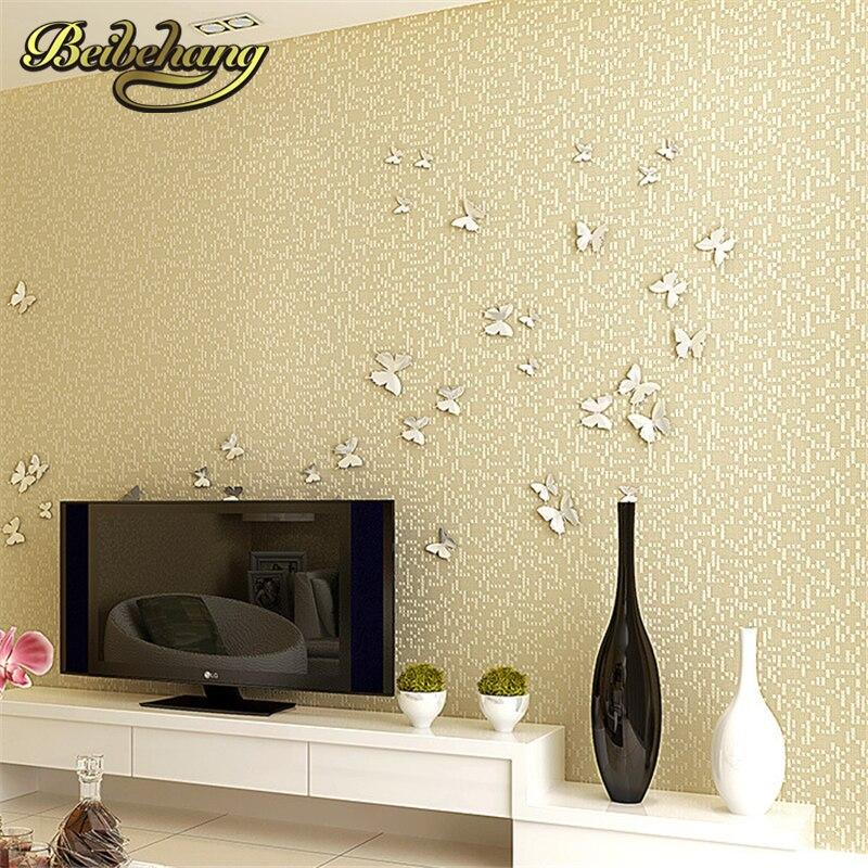 beibehang papel de parede,Linen plain solid color wallpaper modern minimalist bedroom wallpaper TV backdrop study papier peint<br>