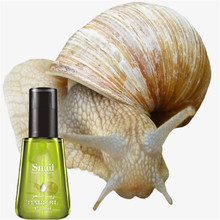 100% Organic Snail Essential Oil for Hair Thicker 100ml Hair Fiber Keratin Fiber Styling Essence 2017 New Type(China)