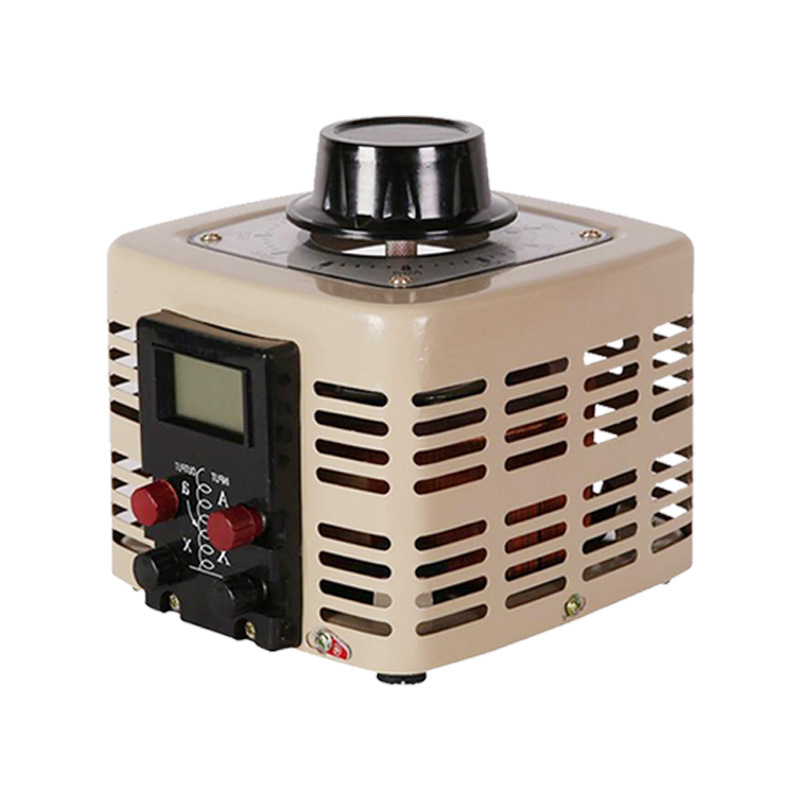 500W 220V de una sola fase AC Estabilizador De Voltaje Regulador De Voltaje 0-300V Ajustable