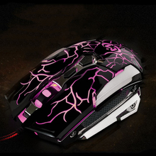 Favorable Price New Laser Mouse USB Computer mouse Gaming Mouse 3500DPI Competitive Manufacturers Selling For LOL Dota WOW