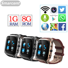 "X01S 1.54"" Android Smartwatch Phone Camera 3G Bluetooth Smart Watch 1.3GHz Dual Core IP67 GPS Watch Cam 1G 8G Heart Rate WiFi"