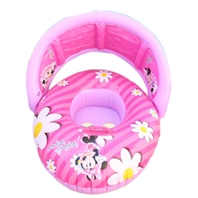 Baby Floating Seat Baby Swimming Inflatable Ring infant Swim Pool Accessories Infant Swim Neck Rings Toys for Infant(China)