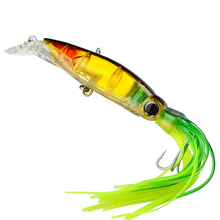 1 Pc Squid Skirt Sleeve-Fish Fishing Lure Bait Tackle 14cm 40g Hook Hydro Squirt(China)