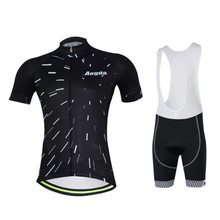 Summer New 2017 Men Specialized Cycling Sets Bib Shorts GEL Bicycle Short Sleeve Quick-Dry Printed Jersey Sets Plus Size