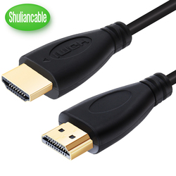 Shuliancable HDMI кабель Высокоскоростной 1080P 3D позолоченный кабель hdmi для HDTV xbox PS3 компьютера 0,3 м 1 м 1,5 м 2 м 3 м 5 м 7,5 м 10 м 15 м