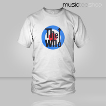 2017 THE WHO T Shirt Rock Band T-shirt Hot sale Music DJ Male & Famale Freeshipping