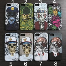 Very cool phone back cover with Luminous case for iphone 5 5s 5se 6 6s 6 plus 7 7 plus Super quality skull head PC hard case