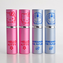 30 X 10ML Portable Cute Cartoon Animal Perfume Bottles Hello kitty & Doreamon Girl Cosmetic Spray Bottles(China)