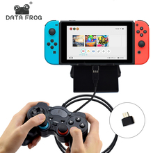 Data Frog For Nintend Switch Game Joystick For PC Windows 7/8/10 USB Gamepad Controller For NS Console(China)