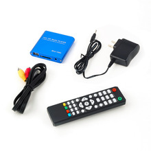 One 1080P HDD Muti-function Media RMV MP4 AVI FLV Player MKV/H.264/RMVB Full HD With HOST USB Card Reader Drop Shipping