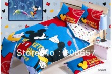 red blue minnie mickey character bedding twin full queen king size comforter cotton quilt duvet covers bed in a bag sheets set