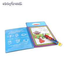 Abbyfrank Drawing Board With Magic Pen Aqua Doodle Kid Game Sketchers Scratch Paper Stencils For Painting Aqua Coloring Book