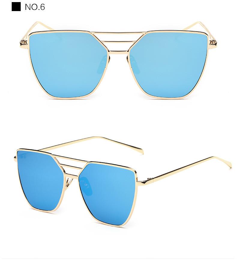 High Quality Cat Eye Sunglasses Women Brand Designer Driving Summer Sun Glasses Women Female Lady Sunglass Mirror Vintage Retro (14)