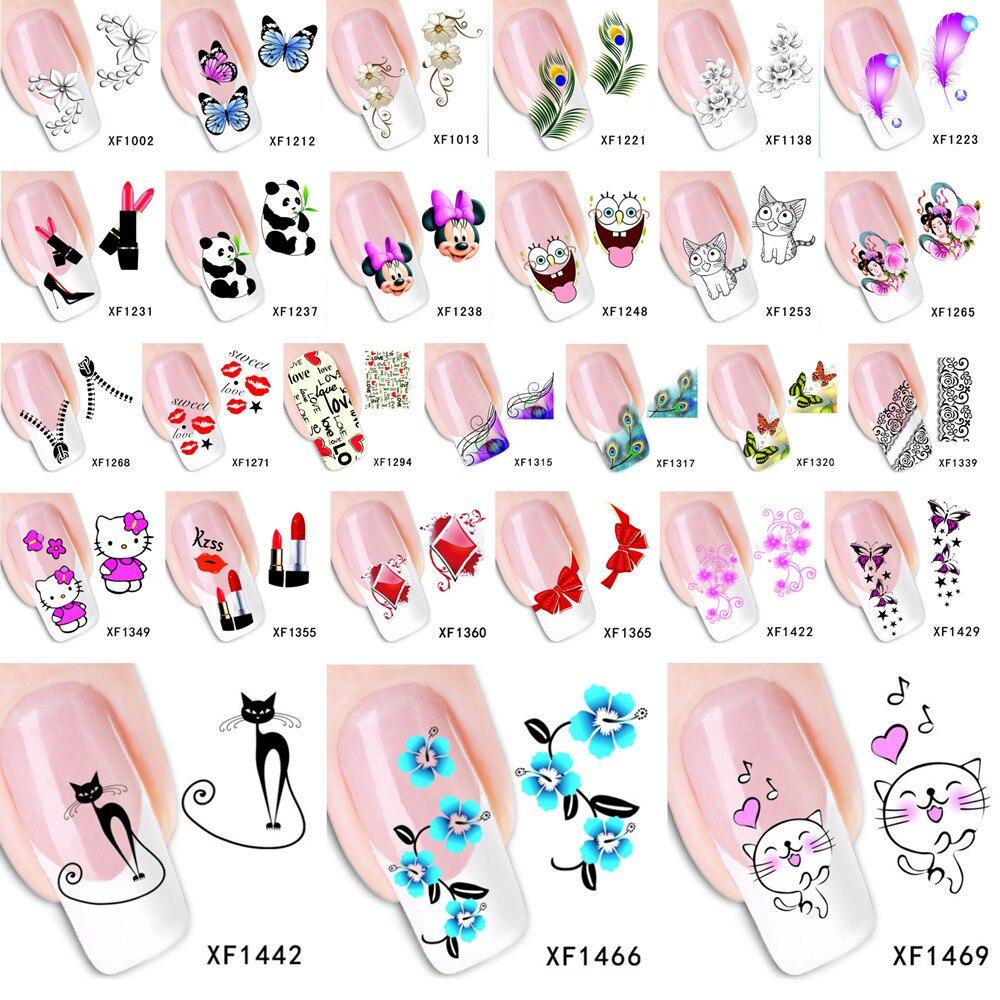 Как сделать наклейку на ногти