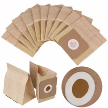 DWZ 10Pcs Vacuum Cleaner Kraft Paper Dust Bag Disposable Filter Bag 00022 For Dry(China)