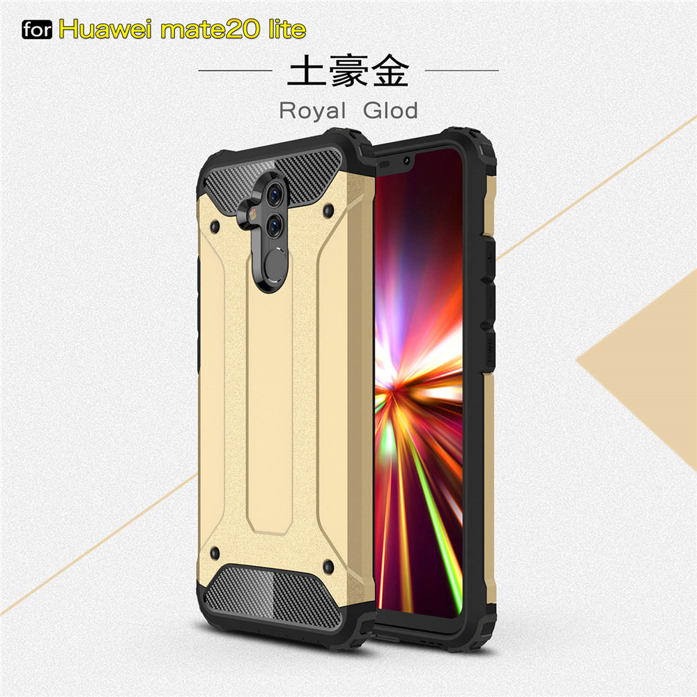 Silicone Cover Rubber Armor Shell Hard Case For Huawei Mate20Lite