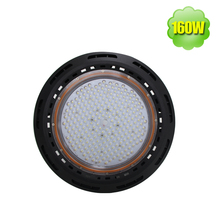 220V High Lumen 3030 SMD 160W IP65 UFO Led High Bay Light Fixture for Workshop Garage Factory Lighting