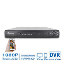 Rmony 2pcs  8ch 1080P AHD DVR AHD-H Analog CCTV Video Recorder P2P remote access  network digital HDMI out AHD DVR Free Shipping