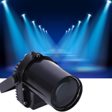 New Pinspot Beam Blue Spot Stage Lights Lamp Led DMX512 DJ Party Bar Club Stage Portable Sound-activated
