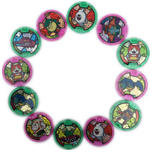 [PCMOS] Japanese Anime DX Yo-Kai Wrist Watch Medals Collection Emblem Fumika/Jibanyan/Whisper/Amano/Keit  and so on 16090914-P