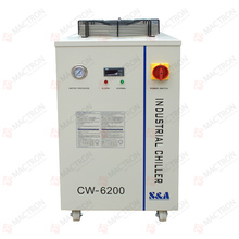 CW6200AI 220V 50Hz Co2 Laser Chiller , Industrial Water Chiller CW6200