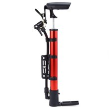 Portable Bike Bicycle Aluminum Pump Ball Tire Hand High Pressure Inflator Mountain Cycling Accessories