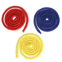 Three Strings Three color linking ropes Magic Trick Red Yellow Blue Rope Magic Props Close-up Funny Toys