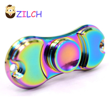 Multicolor Decompression EDC Hand Spinner Anti Reduce Stress Fidget Toy For ADD ADHD Anxiety Boring Annoying Lonely Tension