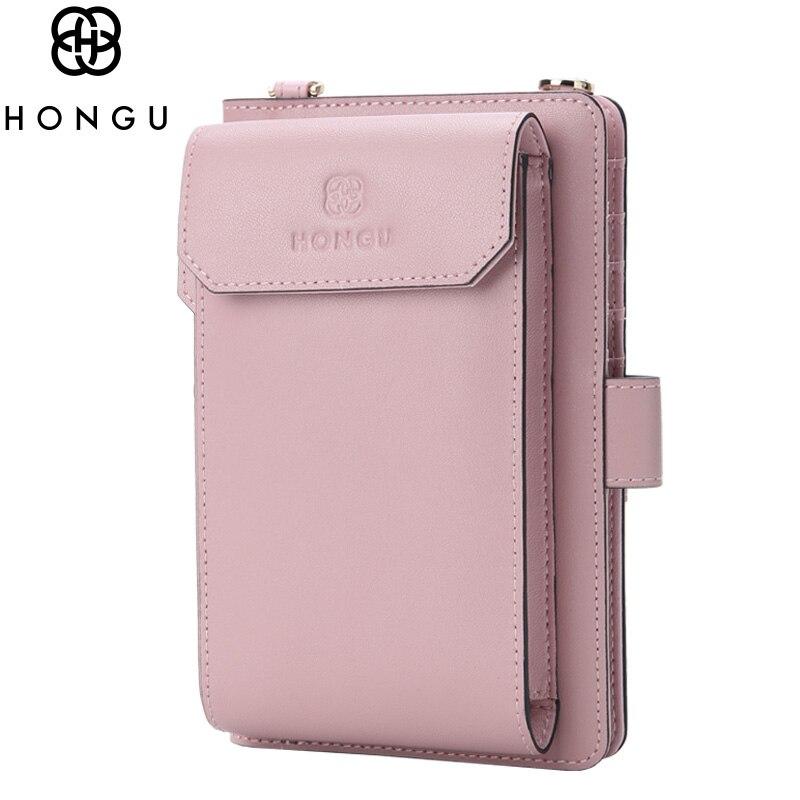 Famous Designer Chain Handle Bag Women Shoulder Clutch Natural Leather Crossbody Brand Phone Bags Purse Card Holder Wallet HONGU<br>