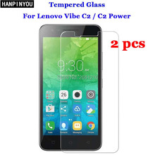 "Buy 2 Pcs/Lot Lenovo Vibe C2 Tempered Glass 9H 2.5D Premium Screen Protector Film Lenovo Vibe C2 / C2 Power K10a40 5.0"" for $1.89 in AliExpress store"