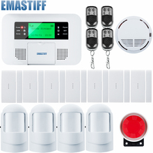 G4B GSM PSTN Home Burglar Alarm System+More Convenient Portable home alarm system+great design for a better safety life(China)