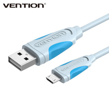 Vention 1/1.5/2/3m V8 Data Charger Sync Micro USB 2.0 Cable For Samsung For Xiaomi For Huawei Android Mobile Phone Tablets MP4