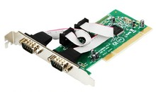 2 Port RS232 RS-232 Serial Port COM DB9 to PCI Card Adapter Converter MCS 9865 Serial industry