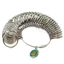 New Standard Jewelry Tool Size Finger Ring Sizer Measurement Ring High Quality Measure Gauge With 33 Different Sizes