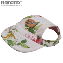 Floral Pet Dog Hats Breathable Baseball Dog Caps Dogs Sports Sun Hats Pet Supplies Cat Dog Accessories 1PCS/Lot