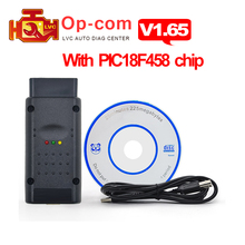 OPCOM V1.65 / V1.70 / V1.78 Firmware with PIC18F458 chip OP-COM for opel obd2 auto can bus scanner OBDII car diagnostic tool(China)