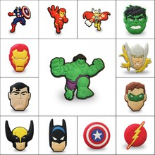 1pcs Single Piece Cool Avengers PVC Cartoon Magnets Home Decoration Fridge Magnetic Sticker Kids Gifts Free Shipping(China)