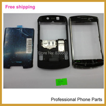 100% Original complete Full Set  Housing +Battery Door Back Cover Case For Blackberry Storm 9500 9530  Housing, Free Shipping