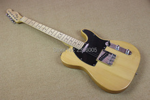Hot Sale Chinese electric guitar tele guitar high quality standard nature color shipping free,custom 52 tl guitar