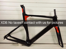 EU countries No taxes!! 2017 Newest design FUll carbon road bicycle bike frame T1000 Toary  XXS/XS/S/M/L/XL