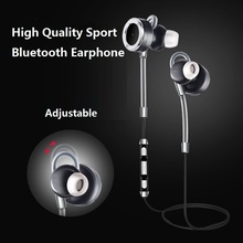 New Fashion Brand Bluetooth Earphone Hifi Super Bass Headset Wireless Earphone with Mic Hands Free Headphone for Mobile Phone