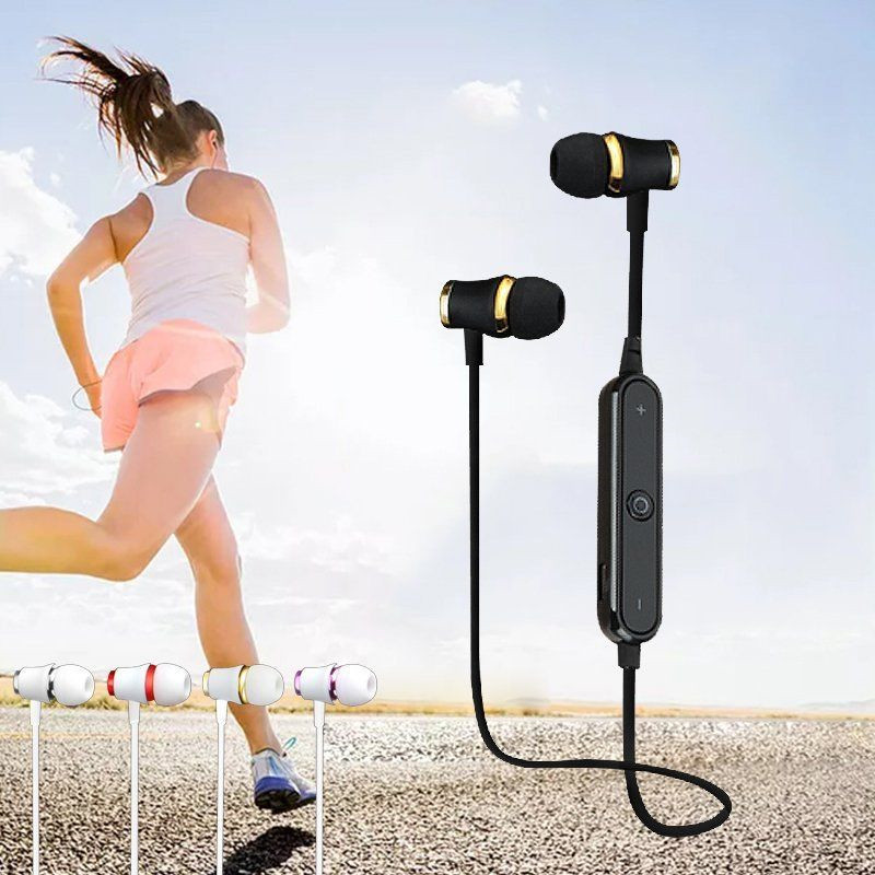 Newest sweatproof headphones bluetooth 4.1 wireless sports earphones running earbuds stereo headset with MIC
