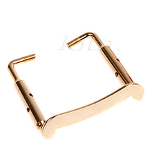 1 Pcs Violin Chin Rest Chinrest Plated Clamp Screw Golden Nickel For 3/4 4/4 Violin Accessories Parts(China)