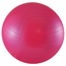 Balancing Stability Ball for Yoga Pilates Anti-Burst + Air Pump Pink 55 cm(China)